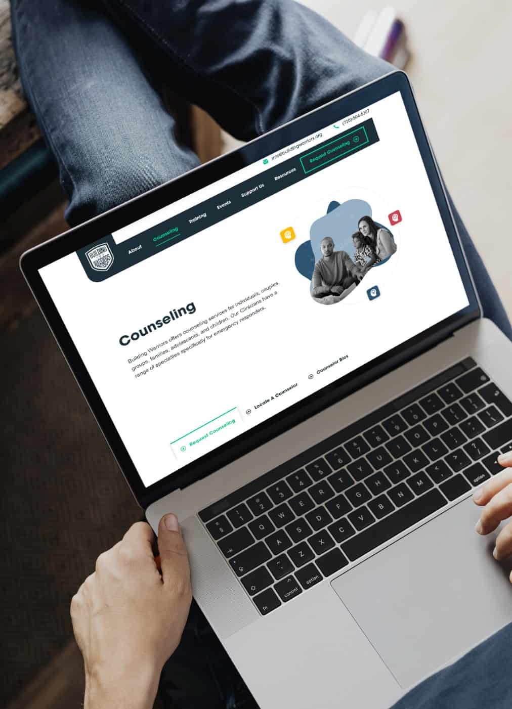 Boulder non-profit brand strategy and website design case study